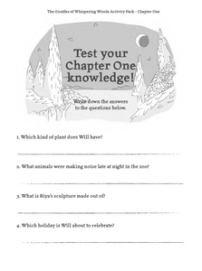 Book 1 - Chapter One - Activity Pack