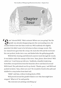 Book 1 - Chapter Four - Activity Pack