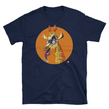 Load image into Gallery viewer, Adult Sam The Spying Giraffe T-Shirt