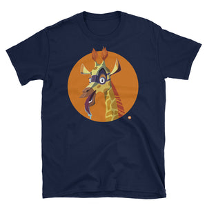 Adult Sam The Spying Giraffe T-Shirt