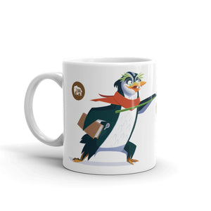 It's Hot Chocolate Time! Professor Penguin Mug