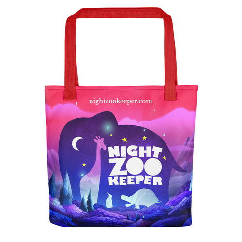 Night Zookeeper Tote bag
