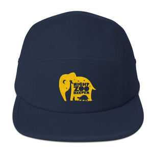 The Night Zookeeper Five Panel Cap