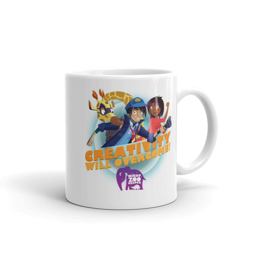 Creativity Will Overcome Mug