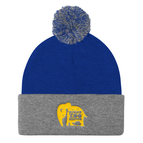 The Night Zookeeper Pom Pom Knit Cap