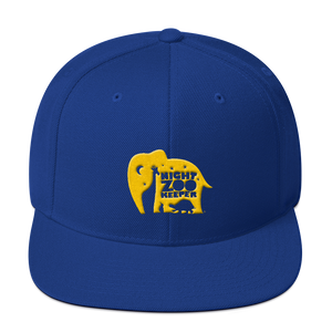 The Night Zookeeper Snapback Hat