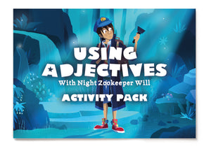 Using Adjectives - Activity Pack