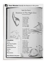 Load image into Gallery viewer, The Night Zookeeper Poetry Resource Pack