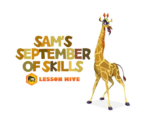 Sam's September of Skills - Age 9-11