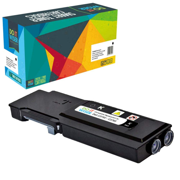 331-8427 C3765DNF C3760N C3760DN Works with: C3760 C3765 331-8431 Magenta Ink /& Toner USA Compatible Toner Replacement for Dell 331-8423