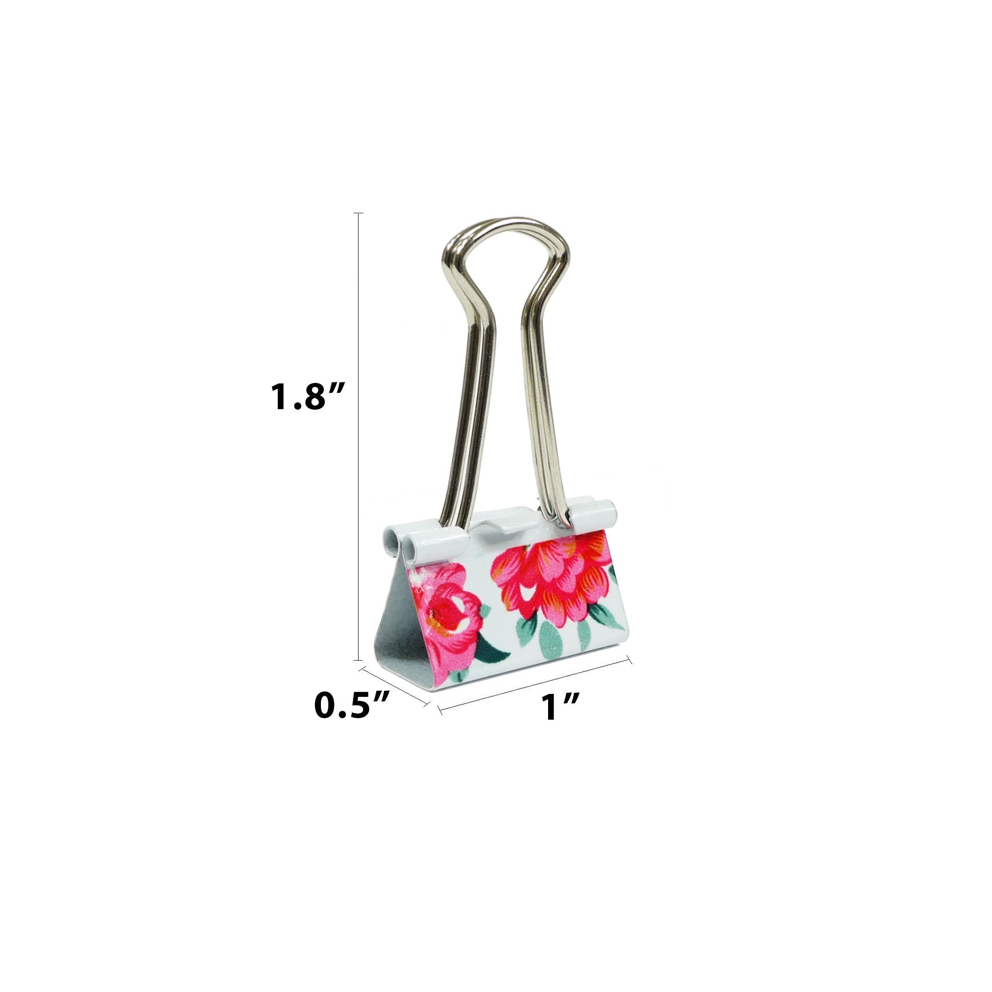 Cute Decorative Binder Clips - Best for Home and Office
