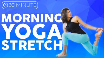 Relaxing Yoga Stretches for Sore Muscles – Yoga for Flexibility (20 minute Yoga)