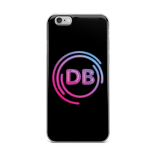 Load image into Gallery viewer, DB Neon Logo iPhone Case