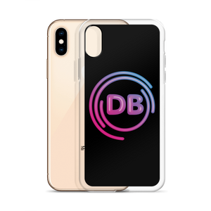 DB Neon Logo iPhone Case