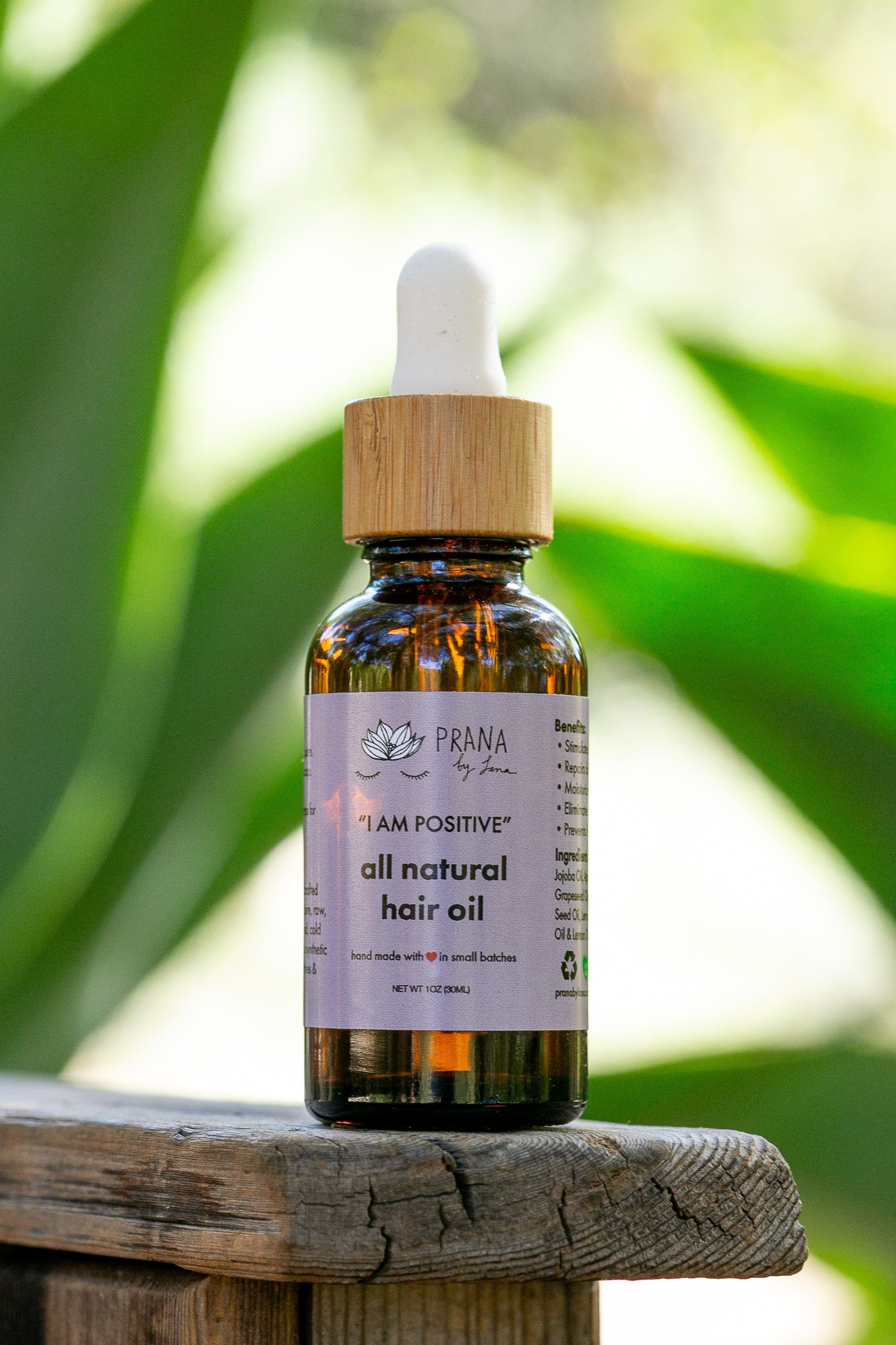 All Natural Hair Oil