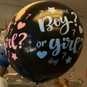 "Solid GS30 BIG BOY OR GIRL 31"" Gender Reveal"