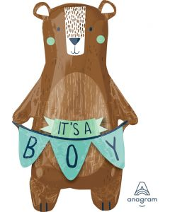 It's a Boy Bear SuperShape Foil