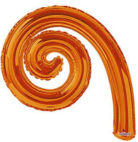 "5-pack Kurly Spiral Foil 14"" in (Choose your color)"