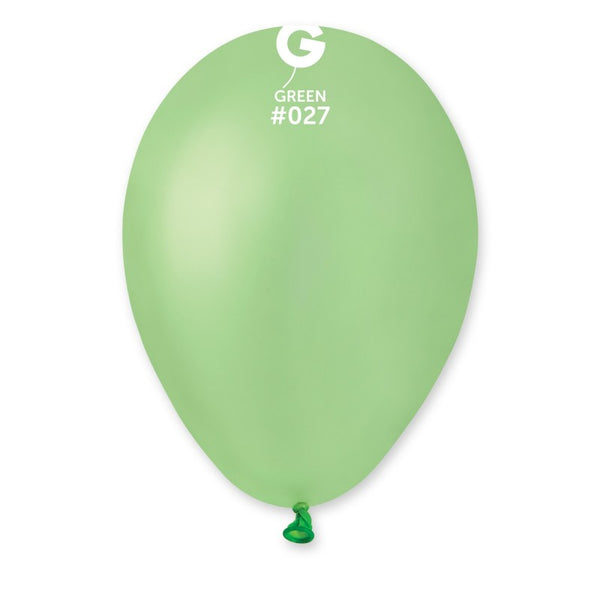 Neon Balloon GF110-027 Green | 50 balloons per package of 12'' each