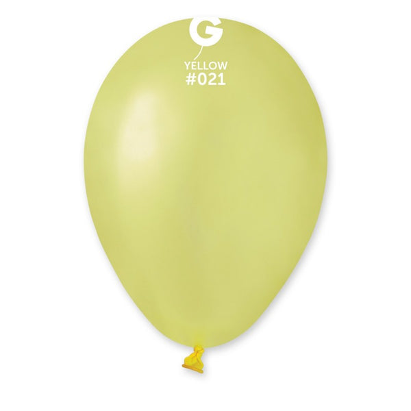 Neon Balloon GF110-021 Yellow | 50 balloons per package of 12'' each