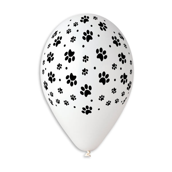 Dog Dots Printed Balloon GS110-636 | 50 balloons per package of 12'' each