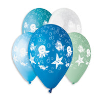 Under The Sea Printed Balloon GS110-614 | 50 balloons per package of 12'' each