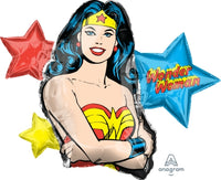 Wonder Woman SuperShape Foil