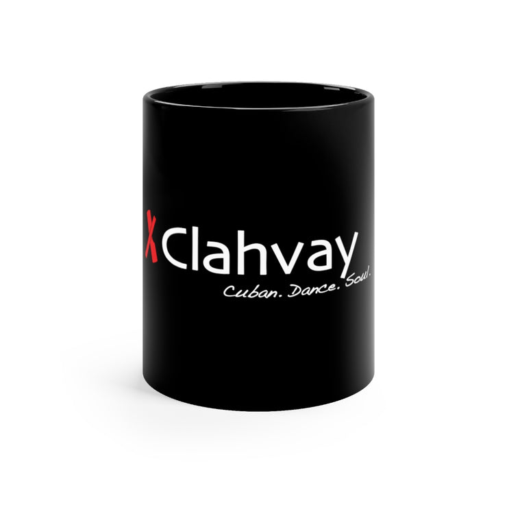 Clahvay Black Mug 11oz