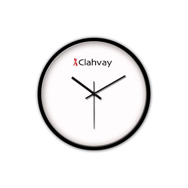 Clahvay Non-Ticking Silent Wall Clock
