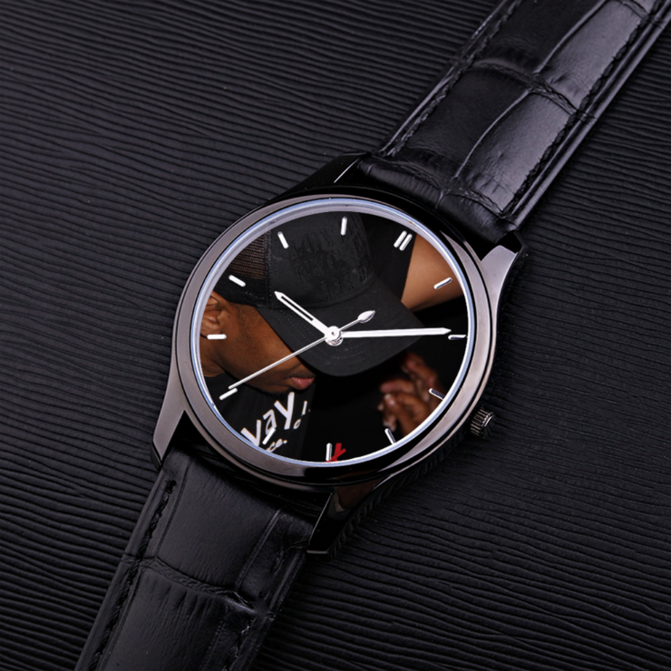 Black Quartz Watch