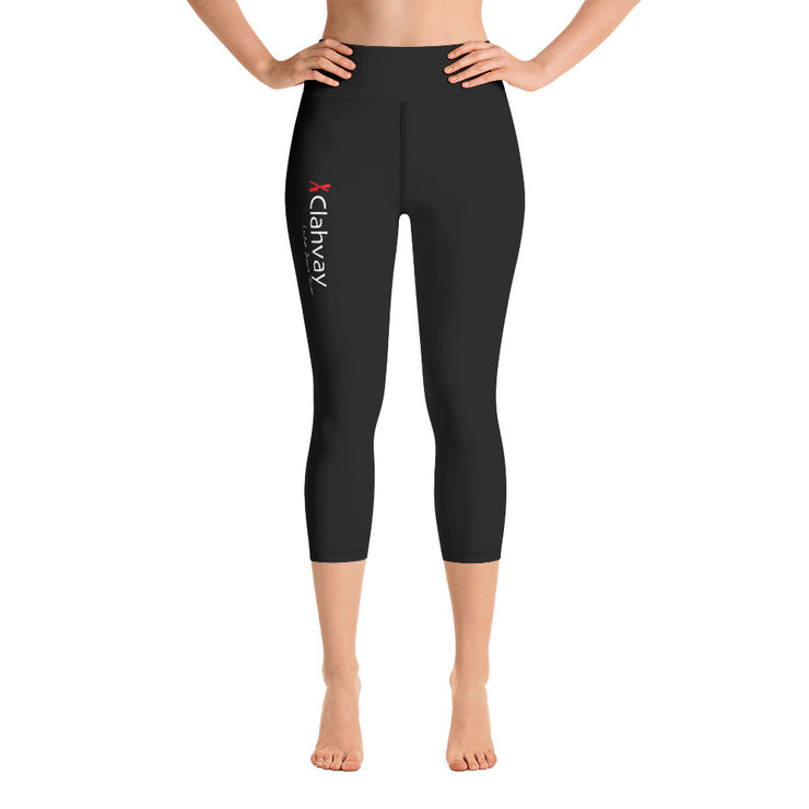 Clahvay Yoga Capri Leggings