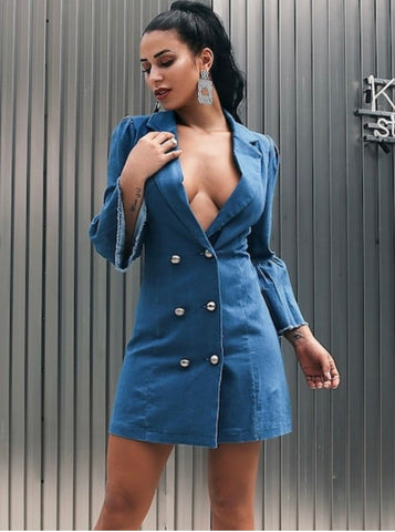 DENIM PRINCESS Dress - RoyalRaine