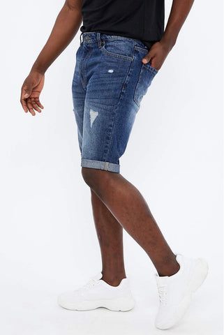 MEN DENIM SHORTS