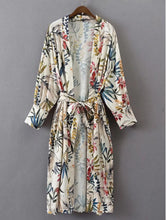 Load image into Gallery viewer, Floral Longline Kimono - RoyalRaine
