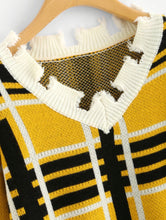 Load image into Gallery viewer, Raw cut sweater - RoyalRaine