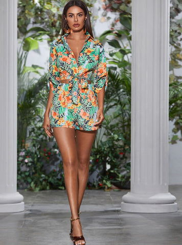 TROPICAL PRINT SET