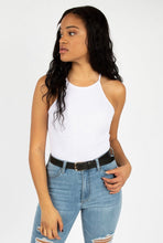 Load image into Gallery viewer, WHITE LIGHTWEIGHT KNIT BODYSUIT