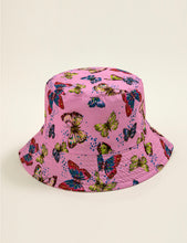 Load image into Gallery viewer, BUTTERFLY BUCKET HAT