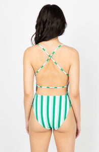MULTI-COLOUR ONE PIECE SWIMSUIT