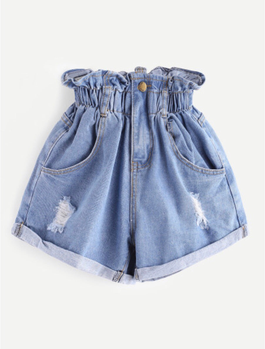 Barbie Denim Shorts