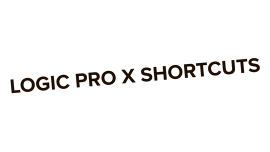 Logic Pro X shortcuts for 2019 complete list + PDF
