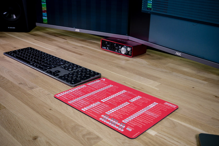 5 Minute Special Edition FL-Studio mousepad - red By Edwan - InsideAudio