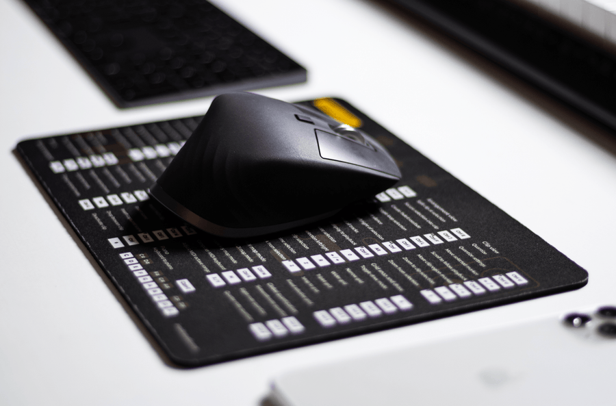 Logic Pro X Shortcut Mousepad