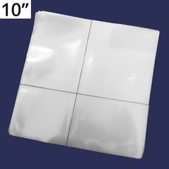 "10"" Transparent Plastic Cover (PVC)"