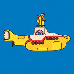 Beatles - Yellow Submarine - Canvas Picture