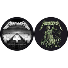 Metallica - Slipmat set - Master Of Puppets & ...And Justice For All