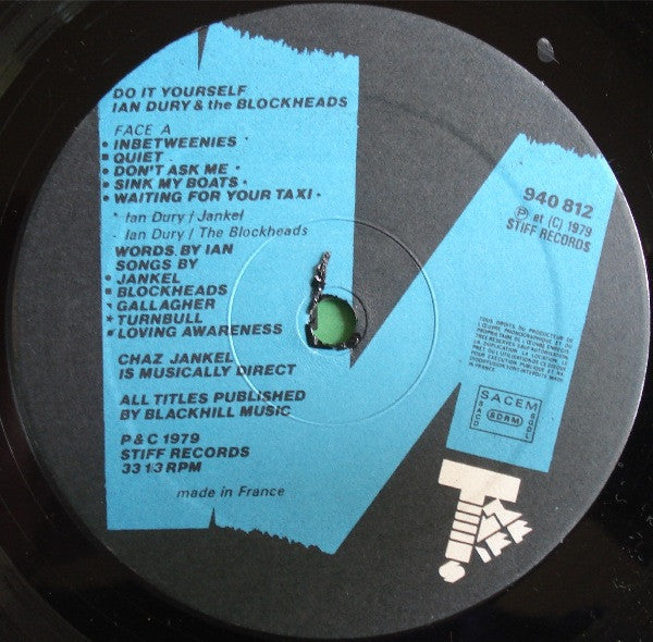 Dury ian the blockheads do it yourself record pusher vinyl dury ian the blockheads do it yourself solutioingenieria Images