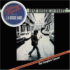 Johnny Rivers And His L. A. Boogie Band ‎– Last Boogie In Paris