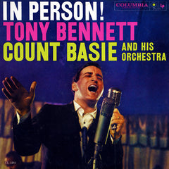 Bennett, Tony With Count Basie And His Orchestra ‎– In Person!