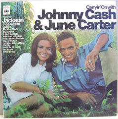 Cash, Johnny & June Carter ‎– Carryin' On With